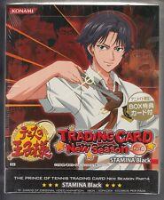 Prince of Tennis Trading Card New Season Part 4 Stamina Black Box Konami JP