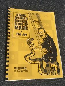 (R)Magic Trick Book Climbing The Ladder To Successful Closeup Magic By Phil Jay