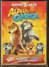 Alpha and Omega 1, 2 & 3 - DVD 3-Movie Collection BRAND NEW