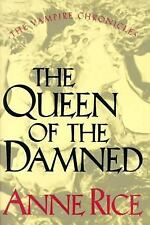 The Queen of the Damned by Anne Rice (1988, Hardcover) - 1st Edition