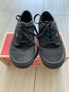 Vans All Black/Black Atwood Size 4 Youth