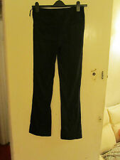 Kaliko Smart Navy Blue Chinos Trousers in Size 8 - L32