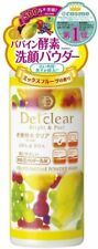 Det Clear Bright & Peel fruit enzyme powder face wash 75g x 2 pieces