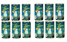 12 Cans-15oz. Coco Lopez Real Cream Of Coconut for Piña Colada & others Desserts