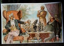 JUDGE MAGAZINE 1893 CHESS REPRINT UNCLE SAM GROVER CLEVELAND ANNEXING HAWAII