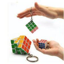 Rubik's Cube Puzzle Magic Kid Toy Mini KeyChain Pendant Key Ring 3 x 3 x 3 cm