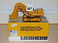 Conrad 2827 1:50 scale Liebherr R984 Hydraulic Excavator in original box