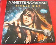 LP Album vinyl Nanette Workman Disque D'or ! K-Tel Records Canada