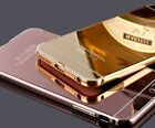 New Luxury Aluminum Ultra-thin Mirror Metal Case Cover for iPhone 6 6s 7 7 Plus