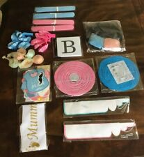BABY GENDER REVEAL Complete Party Supplies Decorations Set Black Reveal Balloon