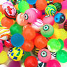 Lot 10pcs Bouncy Jet Balls Birthday Party Loot Bag Fillers Fun For Kid Toy U3I6