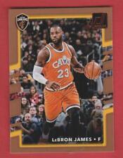 2017-18 Donruss Cleveland Cavaliers LeBron James #27