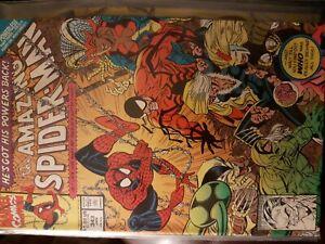 Marvel Comic The Amazing Spider-Man #343  Powerless part 3/4Erik Larsen Art Vfn+