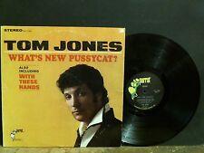 TOM JONES  What's New Pussycat?    LP   U.S. STEREO 1st press    RARE  !