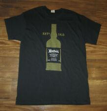 Ardbeg Islay Scotch Whisky Mens Short-Sleeve T-Shirt, Black, Cotton, Size M, EUC