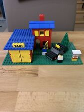 Lego 368 Taxi Station Classic City Stadt Town original Baseplate Top Zustand