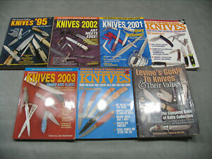 KNIVES ANNUAL COLLECTION OF 6 PLUS VALUE GUIDE