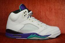 CLEAN Nike Air Jordan 5 V Retro Grape 2013 Size 9.5 136027-108