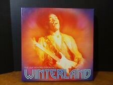 JIMI HENDRIX WINTERLAND 8LP Classic Rock Guitar Vinyl Box Set 180G Numbered VG+!