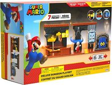 Nintendo Super Mario Dungeon Deluxe Play Set NEW & SEALED
