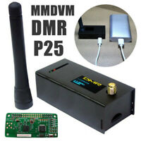 Assembled MMDVM Hotspot Support P25 DMR YSF for Raspberry pi+433Mhz Antenna+CaFR