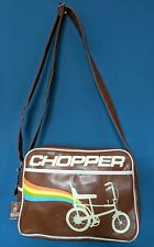 Retro Raleigh Chopper Satchel Bag with Original Keyring - Record - Vintage