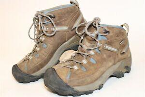KEEN Womens Size 7 37.5 Targhee II Waterproof Leather Lace Hiking Boots 1007730