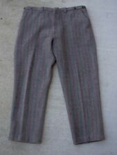 Vintage Melton Wintermaster Wool Gray Pants Trousers Hunting made in the USA