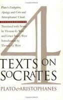 4 Texts on Socrates: Plato's Euthyphro, Apology of Socrates, Crito and Aristopha