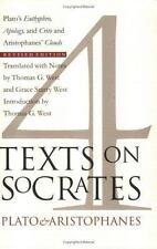 4 Texts on Socrates: Plato's Euthyphro, Apology of Socrates, Crito and Aristoph