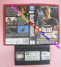 VHS film SILENT TRIGGER 1996 Dolph Lundgren IIF CK 20444 Lucisano (F117) no dvd*