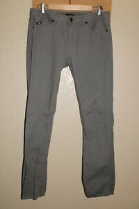 "VANS Mens 32""W 30""L gray chino Pants Combine ship Discount"