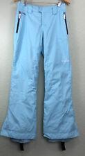Spyder Xtl Spylon aqua blue Winter Snow Snowboard Pants Thinsulate size M ski