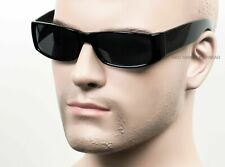 Gangster Lowrider OG LOC Style Sunglasses Cholo Super Dark Black 558SD