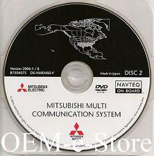 2006 to 2010 Mitsubishi Galant Endeavor Navigation DVD Disc #2 NM TX OK AR LA MS