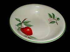 Homer Laughlin #JJ150 Nautilus RED APPLE Dessert Bowl (loc-D22)