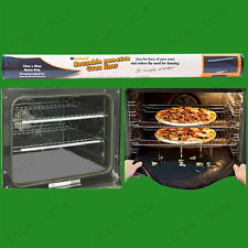 Heavy Duty Oven Liner, 40cm x 50cm Easy Clean Reusable Non-Stick Dishwasher Safe