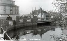 New Bridge Halstead unused RP old postcard