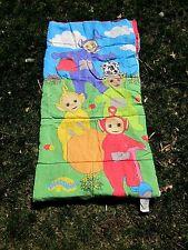 TELETUBBIES kids sleeping-bag PBS Laa-Laa Tinky Winky BBC Po 1998