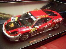HOT WHEELS ELITE FERRARI F430 MODENA CARS RACING #102 EUROPEAN CHAMPION 2006