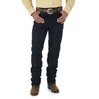 Men's New Wrangler Cowboy Cut Silver Edition @Slim Fit Western Jeans Dark Denim
