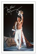FREDDIE MERCURY SIGNED PHOTO 6x4 PRINT AUTOGRAPH QUEEN BOHEMIAN RHAPSODY