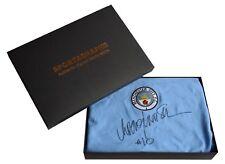 Rodney Marsh Signed Shirt Autograph Manchester City Football Gift Box AFTAL COA