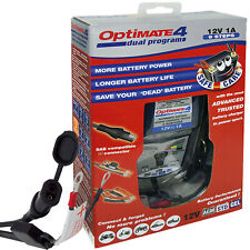 Optimate 4 Dual Program 12 Volt Battery Charger and Conditioner (Can Bus Option)