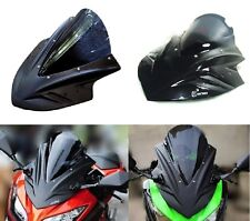 Front fairing cover Windshield for KAWAZAKI NINJA250/300  Black/Carbon