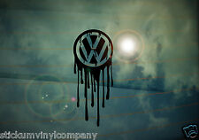 Dripping VW Car Sticker/Decal *VW*Dubs*German*Volkswagen*VAG*Euro*VDUB*DubLuv*