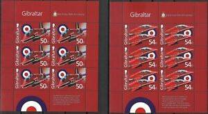 "GIBRALTAR - 2014 MNH ""50th Anniversary Of RED ARROWS"" Five Souvenir Sheets !!!!"