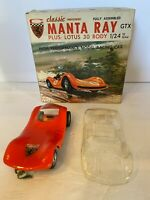 Manta Ray GTX Slot car by Classic Industries 1/24 scale