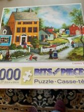 1000 piece Bits and Pieces  jigsaw puzzle Country Village