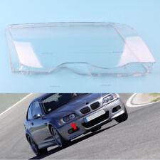 Rechts For 1999-2001 BMW E46 3 Series Sedan Headlight Lenses Shell Cover